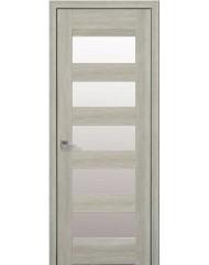 Межкомнатная дверь Лайт Бронкс стекло сатин дуб сицилия