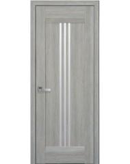 Межкомнатная дверь Лайт Рейс стекло сатин дуб сицилия