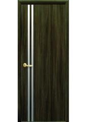Межкомнатная дверь Квадра Вита с зеркалом Кедр