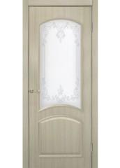 Двери межкомнатные «Омис»Адель 2 СС+КР дуб беленый