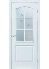Двери межкомнатные «Омис»Классика СС+КР белый