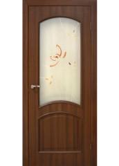 Двери межкомнатные «Омис»Адель СС+КР орех