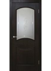 Двери межкомнатные «Омис»Даниэлла СС+КР венге