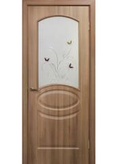 Двери межкомнатные «Омис»Лика СС+КР дуб золотой