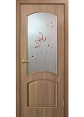 Двери межкомнатные «Омис»Адель СС+КР дуб золотой