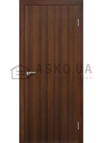 Двери межкомнатные «Омис»Глухая (гладкая) орех в Харькове фото