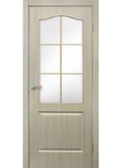 Двери межкомнатные «Омис»Классика СС дуб беленый