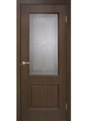 Двери межкомнатные «Омис»Версаль СС+КР каштан