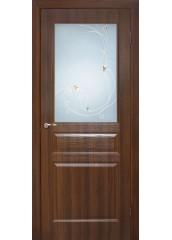 Двери межкомнатные «Омис»Барселона СС+КР орех
