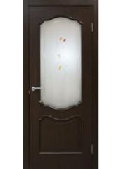 Двери межкомнатные «Омис»Прованс СС+КР каштан