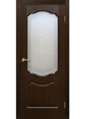 Двери межкомнатные «Омис»Прима СС+КР каштан