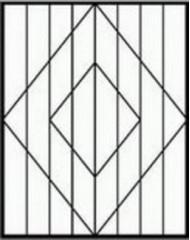Кованная решетка №30
