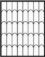 Кованная решетка №46