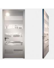 Межкомнатные стеклокаркасные двери 'Axioma' Лайн 04 Lpt