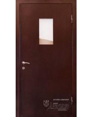 Входная дверь Abwehr Техническая дверь со стеклом