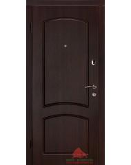 Входная дверь Капри-В темный орех