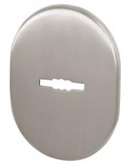 Декоративная накладка ESC 475 SN МАТ НИКЕЛЬ на сувальдный замок