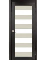 Межкомнатная дверь Korfad Porto Combi Colore PC-04 комбинир