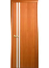 Межкомнатная дверь Квадра Вита с зеркалом Ольха