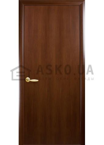 Межкомнатная дверь Колори Стандарт глухое Орех в Харькове фото