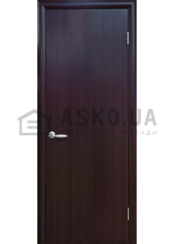 Межкомнатная дверь Колори Стандарт глухое венге DeWild в Харькове фото