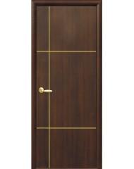 Межкомнатная дверь Plus Ника GOLD глухое с гравировкой GOLD