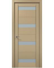 Межкомнатная дверь 'Папа Карло' Мillenium ML 03 Дуб отбеленный