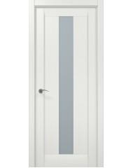 Межкомнатная дверь 'Папа Карло' Мillenium ML 01 Белый ясень
