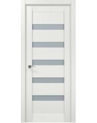 Межкомнатная дверь 'Папа Карло' Мillenium ML 02 Белый ясень