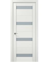 Межкомнатная дверь 'Папа Карло' Мillenium ML 03 Белый ясень