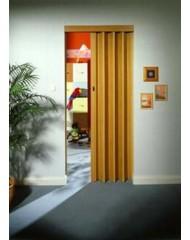 Дверь-гармошка Rapid 88x203 светлое дерево